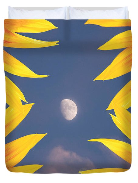 Sunflower Moon Duvet Cover by James BO  Insogna
