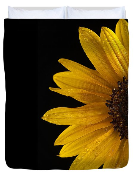 Sunflower Number 3 Duvet Cover by Steve Gadomski