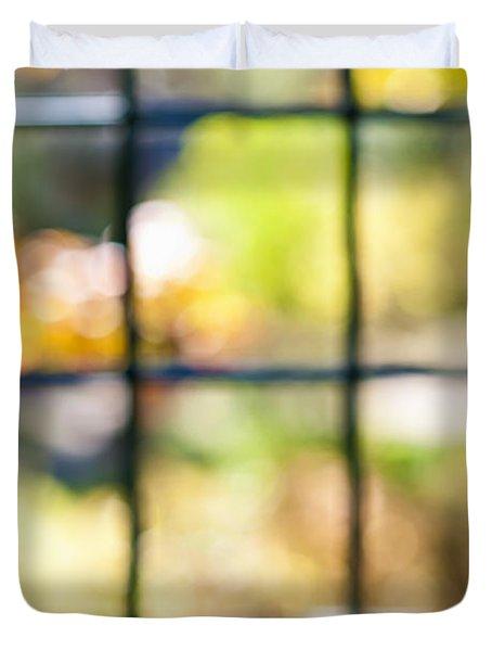 Sunny outside Duvet Cover by Elena Elisseeva