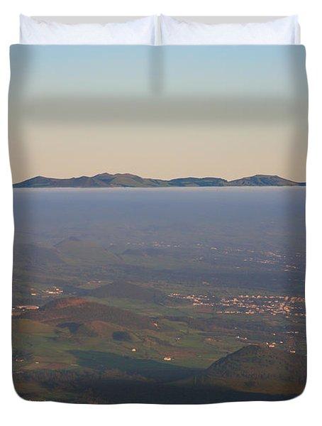 Sunrise At Sao Miguel Island Duvet Cover by Gaspar Avila