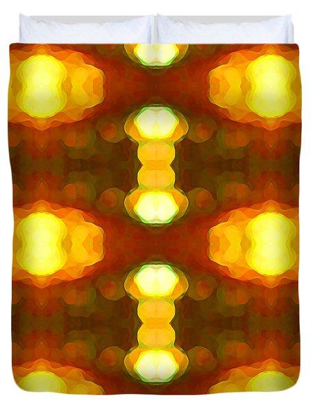 Sunset Glow 1 Duvet Cover by Amy Vangsgard