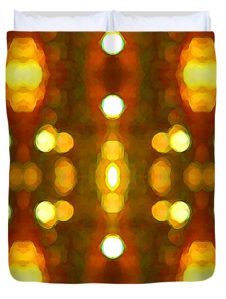 Sunset Glow 2 Duvet Cover by Amy Vangsgard
