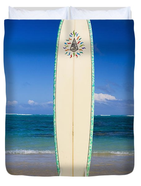 Surfboard Duvet Cover by Tomas del Amo - Printscapes