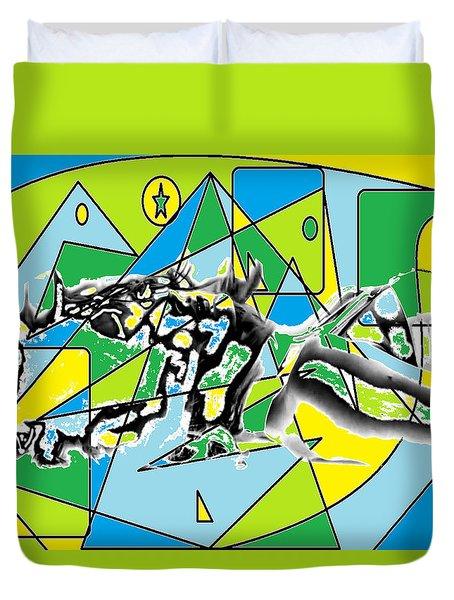 Swift Duvet Cover by AR Teeter