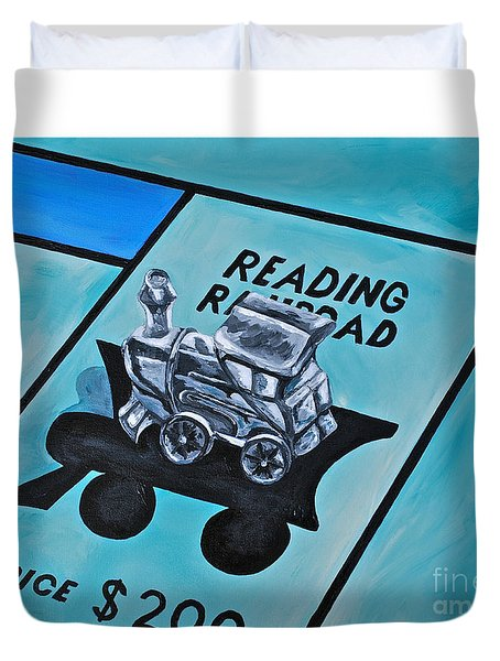 Take A Ride On The Reading  Duvet Cover by Herschel Fall