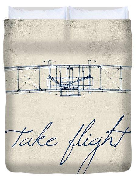 Take Flight Duvet Cover by Brandi Fitzgerald