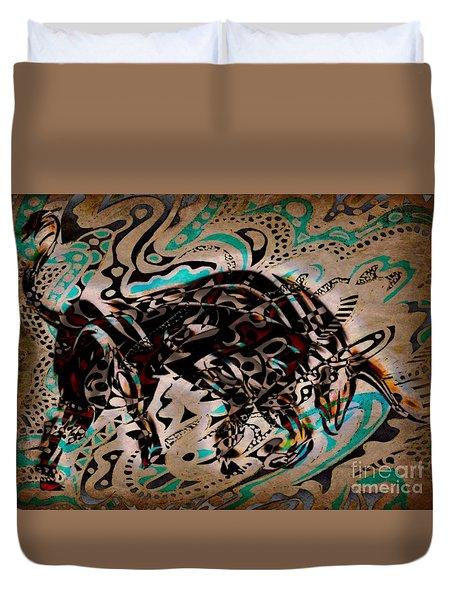 Taurus Duvet Cover by WBK
