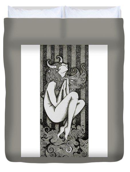 Taurus Duvet Cover by Zelde Grimm