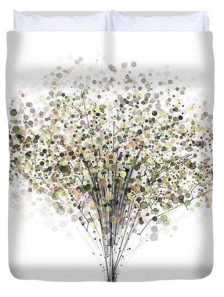 technology Abstract Duvet Cover by Setsiri Silapasuwanchai
