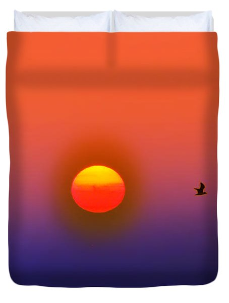 Tequila Sunrise Duvet Cover by Bill Cannon