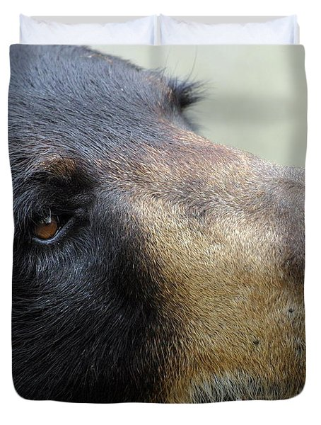 That Face Duvet Cover by Karol Livote