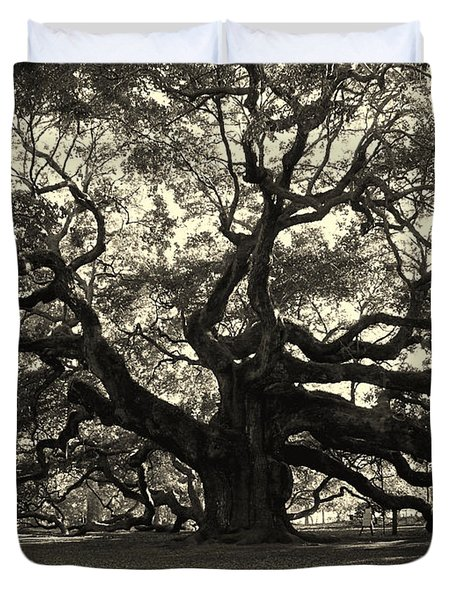 The Angel Oak Duvet Cover by Susanne Van Hulst