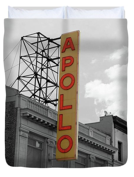 The Apollo In Harlem Duvet Cover by Danny Thomas
