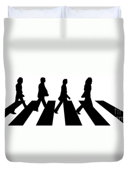 The Beatles No.02 Duvet Cover by Caio Caldas