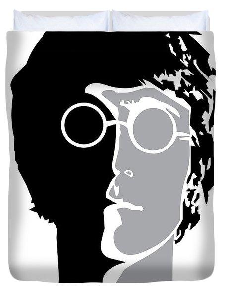 The Beatles No.08 Duvet Cover by Caio Caldas