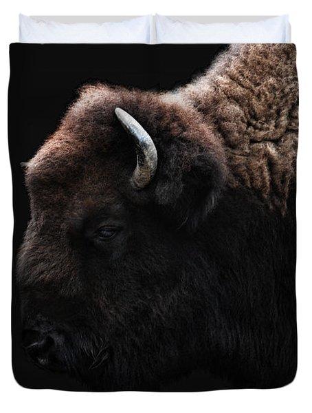 The Bison Duvet Cover by Joachim G Pinkawa
