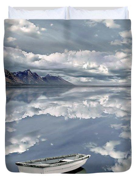 The Calm Duvet Cover by Jacky Gerritsen