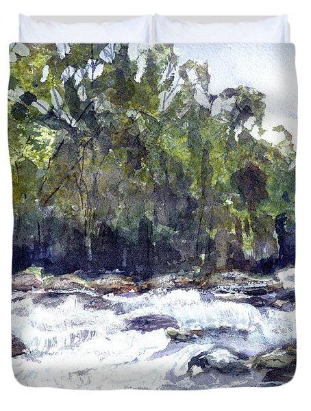 The Cascades Duvet Cover by Barry Jones