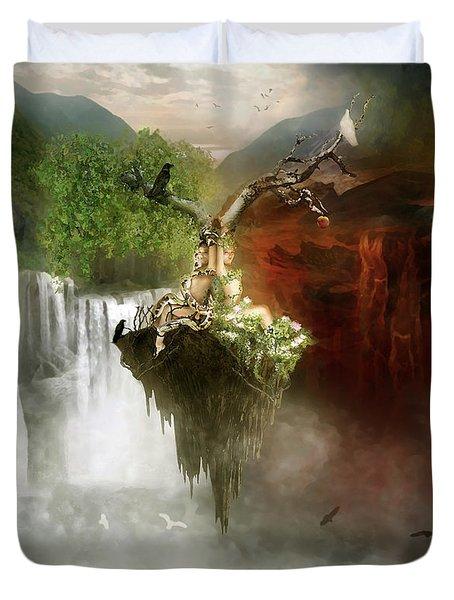 The Choice Duvet Cover by Mary Hood