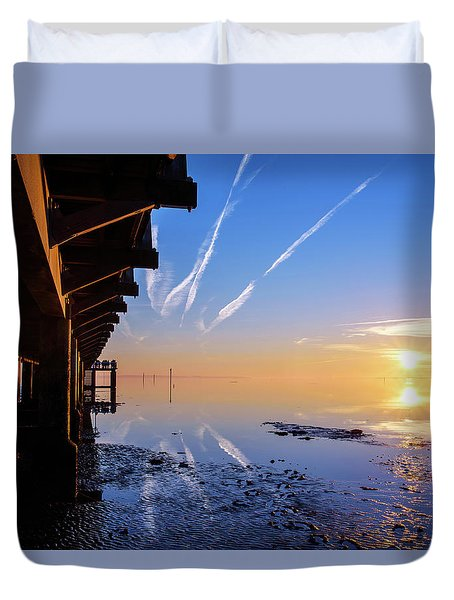 Duvet Cover featuring the photograph The Chosen by Thierry Bouriat