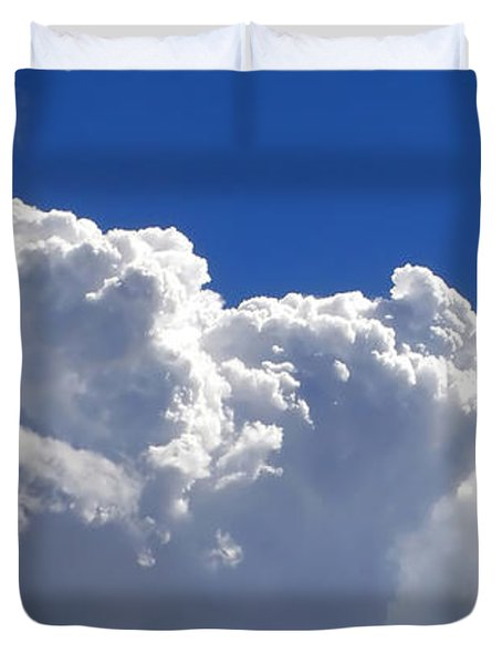 The Cloud Duvet Cover by Kaye Menner