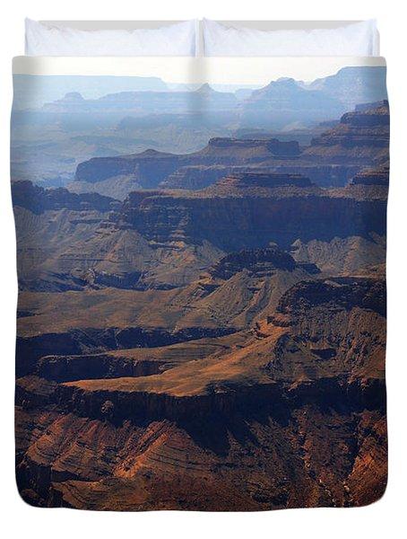 The Colorado River Duvet Cover by Susanne Van Hulst