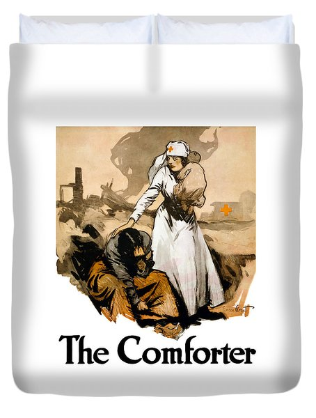 The Comforter Duvet Cover by War Is Hell Store