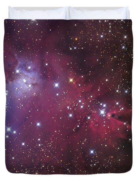 The Cone Nebula Duvet Cover by Roth Ritter