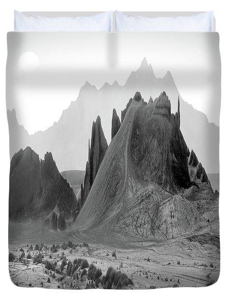 The Edge Duvet Cover by Mike McGlothlen