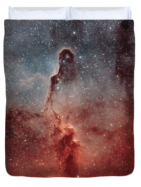 The Elephant Trunk Nebula Duvet Cover by Rolf Geissinger