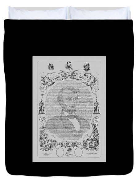 The Emancipation Proclamation Duvet Cover by War Is Hell Store