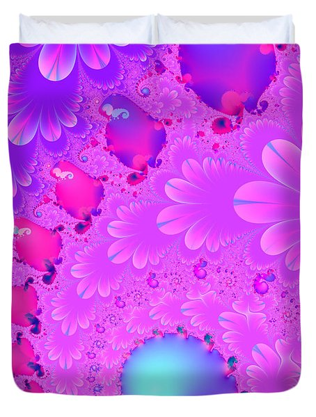 The Enchanted Forest . Version 2 . S8 Duvet Cover by Wingsdomain Art and Photography
