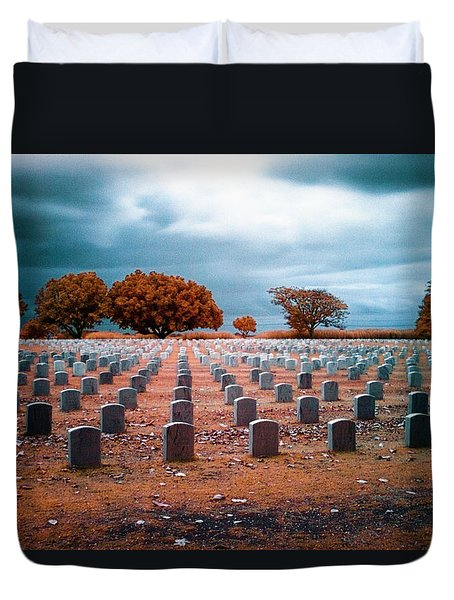 The End 2 Duvet Cover by Skip Nall