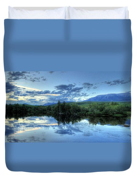The End Is Near Duvet Cover by Lori Deiter