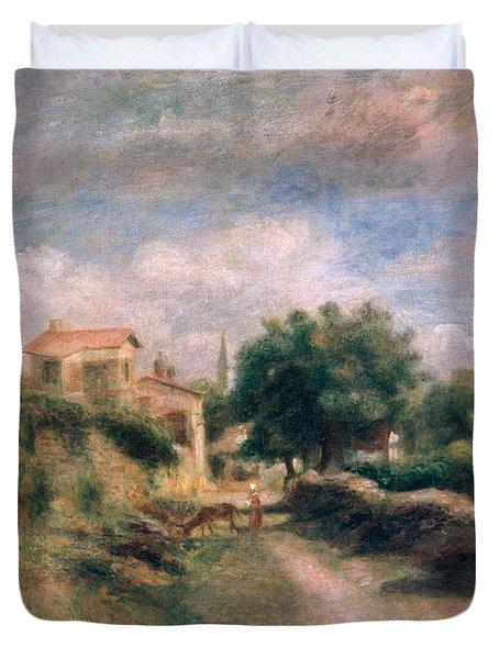The Farm Duvet Cover by Renoir