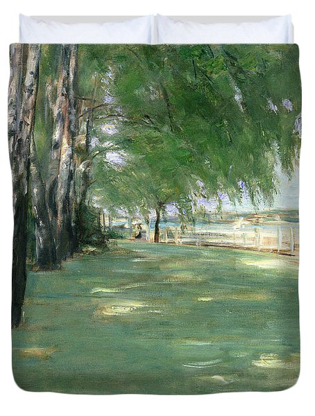 The Garden Of The Artist In Wannsee Duvet Cover by Max Liebermann