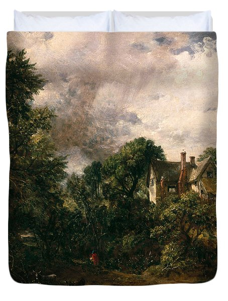 The Glebe Farm Duvet Cover by John Constable