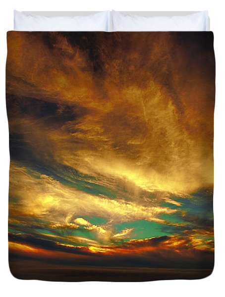The Glory Duvet Cover by James Heckt