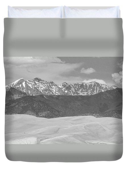 The Great Colorado Sand Dunes  Duvet Cover by James BO  Insogna