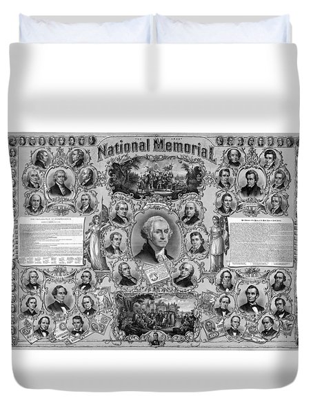 The Great National Memorial Duvet Cover by War Is Hell Store