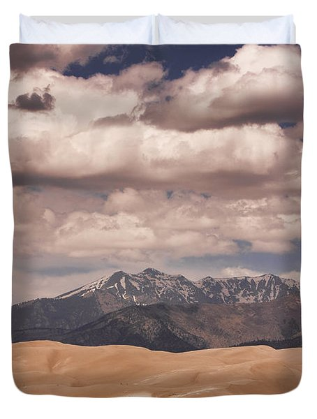 The Great Sand Dunes 88 Duvet Cover by James BO  Insogna