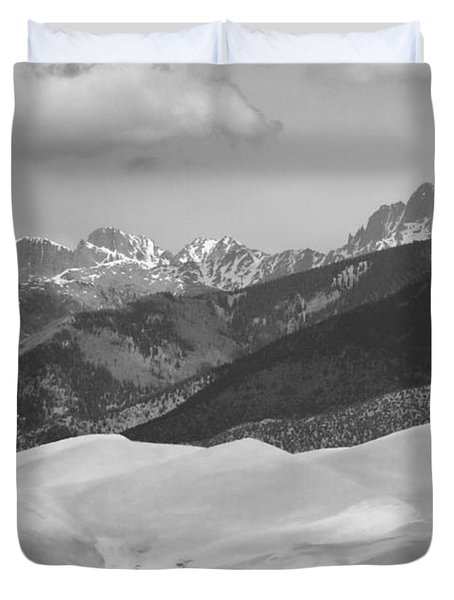 The Great Sand Dunes Bw Print 45 Duvet Cover by James BO  Insogna