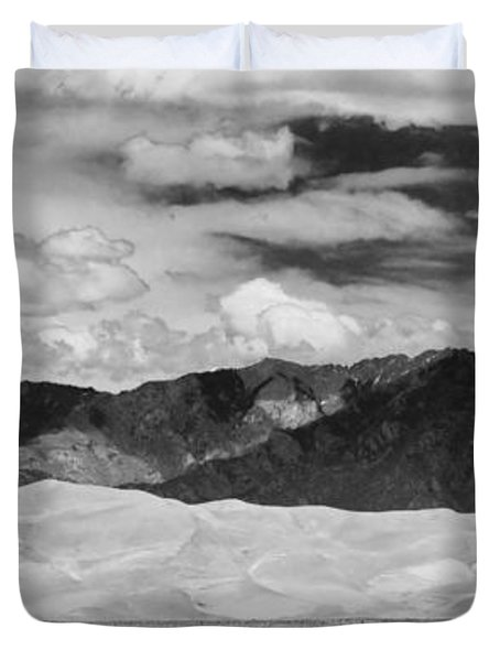 The Great Sand Dunes Panorama 2 Duvet Cover by James BO  Insogna