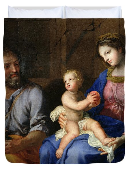 The Holy Family Duvet Cover by Jacques Stella