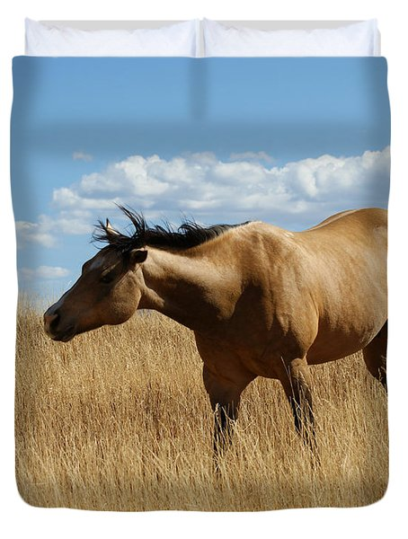 The Horse Duvet Cover by Ernie Echols