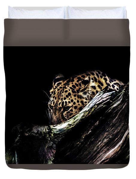 The Hunt Duvet Cover by Martin Newman