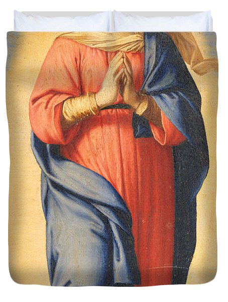 The Immaculate Conception Duvet Cover by Il Sassoferrato