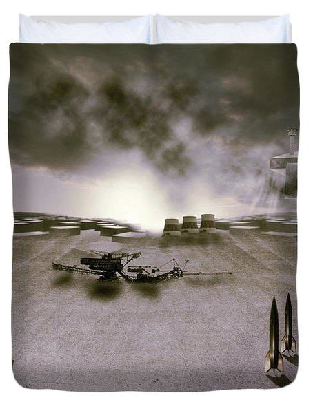 The Industrial Revolution Duvet Cover by Nathan Wright