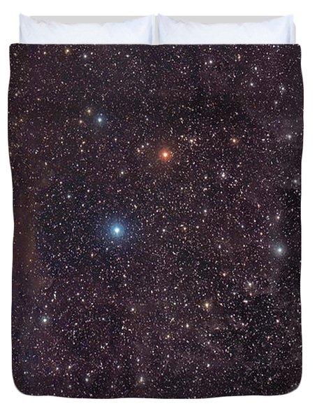 The Iris Nebula In Cepheus Duvet Cover by John Davis