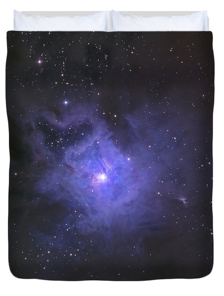 The Iris Nebula Duvet Cover by Ken Crawford